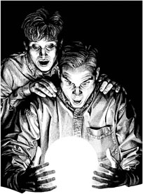 Inside Magic Image of Couple Learning Magic's True Secrets