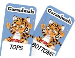 Inside Magic Image of Garanimals Tags